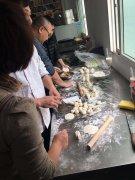 米饺学员培训过程图