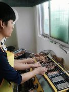 韩式烧烤学员培训过程图