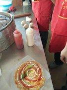 台湾手抓饼学员培训过程图