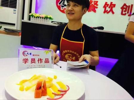 广东肠粉学员培训过程图