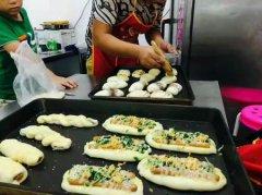 面包学员培训过程图