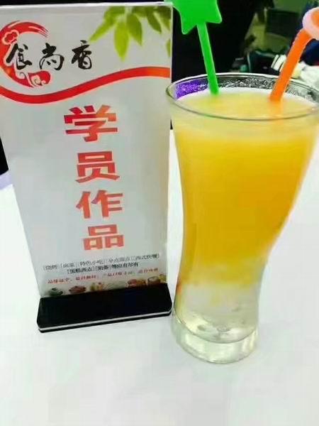 黄金玉米汁培训学员作品图