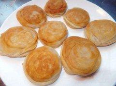 清油盘丝饼学员培训过程图