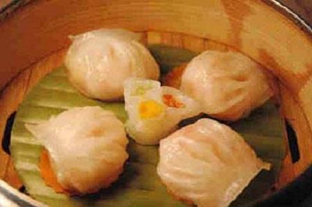 蟹黄灌汤饺学员培训过程图