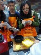 鲜芋仙甜品学员培训过程图