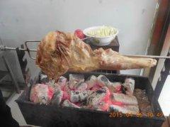 烤羊腿培训学员作品图
